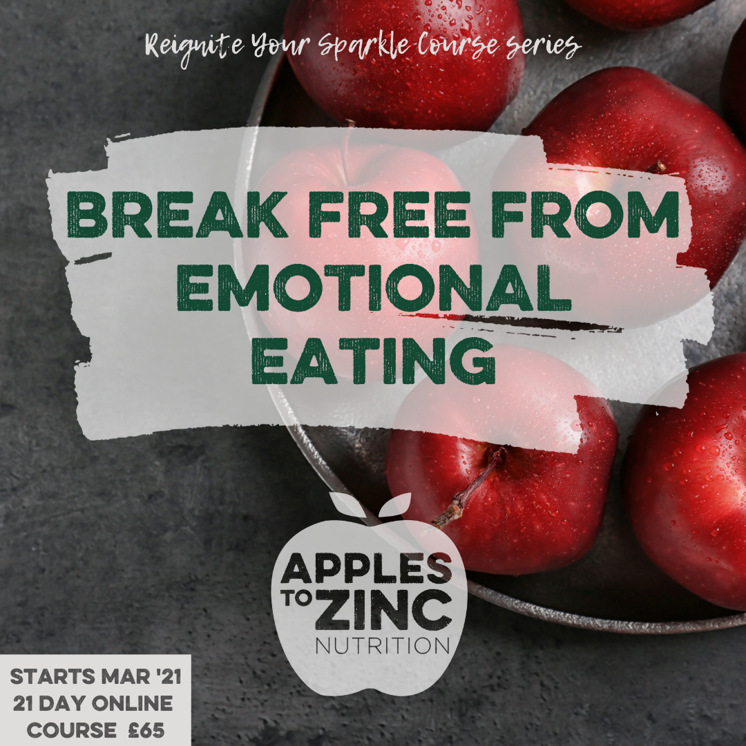 EMOTIONAL EATING course with dates