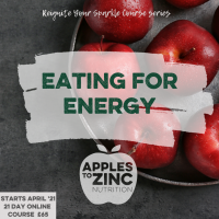 Eating for energy course with dates