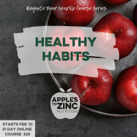 Healthy habits course with dates