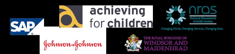corporate logo banner